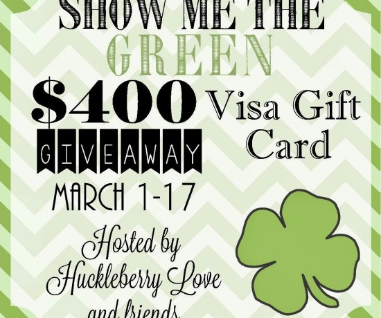 Enter to win a $400 Visa Gift Card!!