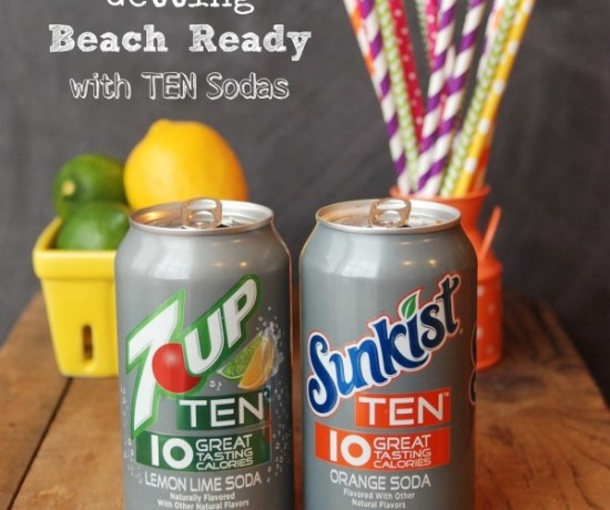 Get beach ready with TEN sodas: full-flavor sodas with only 10 calories each! #TENways #PMedia #ad
