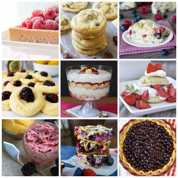 12 Delicious Berry Recipes from Eat. Create. Party!