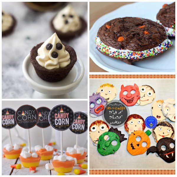 A collection of 36 crazy cute Halloween projects and treats!