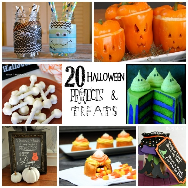 20 fabulous Halloween projects & treats #31DaysofHalloween