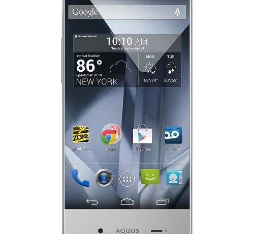 The Sharp Aquos Crystal smartphone is a perfect gift this holiday season! #SprintMom #Sponsored #MC