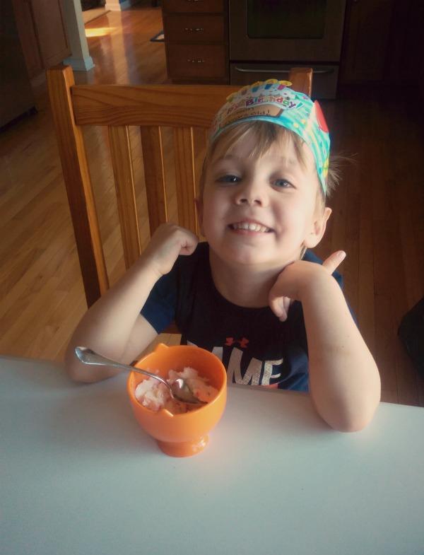 Mason turns 4