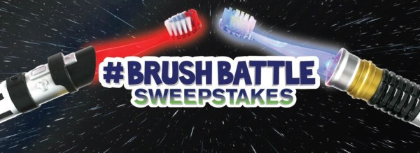 Enter the Firefly #BrushBattle sweepstakes for a chance to win a trip for 4 to an awesome California theme park!