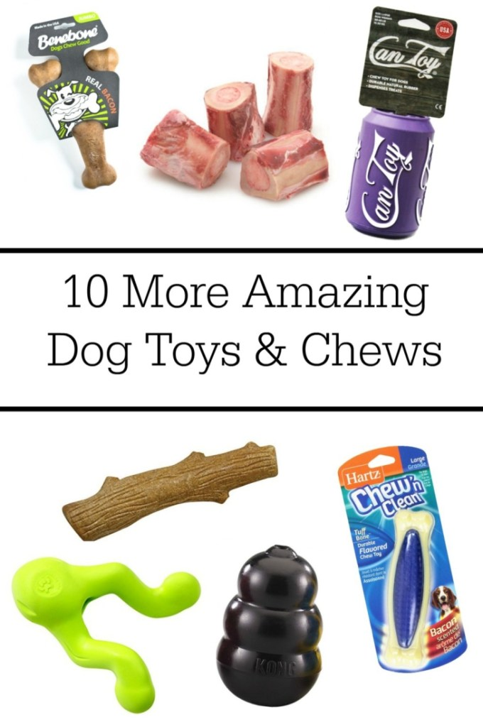 This is an amazing list of dog toys and chews for aggressive chewers. My dog destroys everything, but these ones really last!