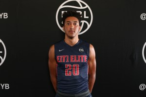 Atlanta, GA - MAY 27: Nike EYBL. Session 4. David Nickelberry #20 of E1T1 (Photo by Jon Lopez)