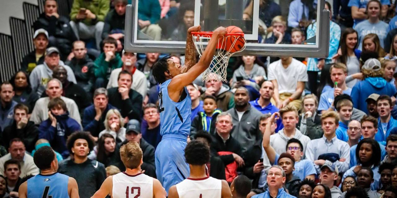 James Beck (17/Grand Rapids Christian) 2017 Class A Quarterfinal Highlights