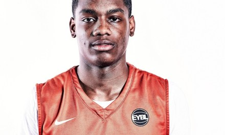 Demarius Jacobs (18/Mac Irvin) 2017 EYBL Session 4 Highlights