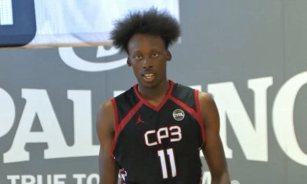 John Newman (18/Team CP3) 2017 EYBL Session 4 Highlights