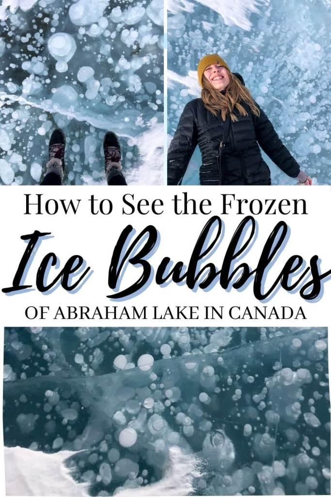 Pin Image of Abraham Lake Blog Post