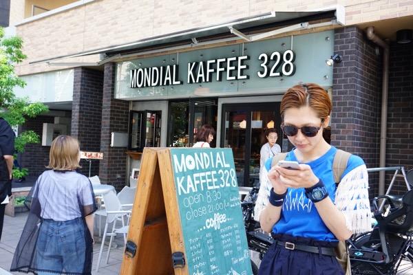 爽やかにモーニングを頂く♡堀江カフェ