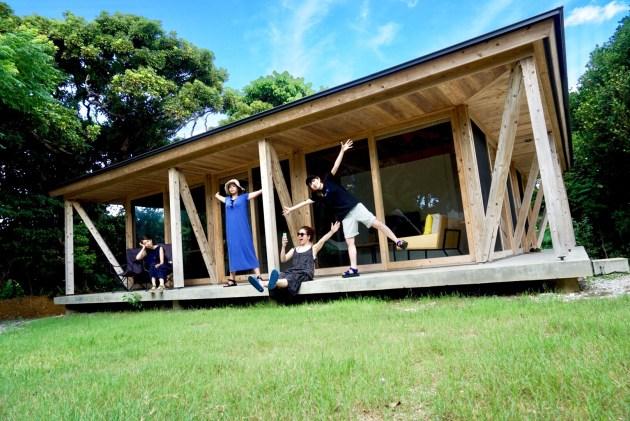 沖縄旅行!!素敵過ぎる建築家デザインの一軒屋に宿泊!!!