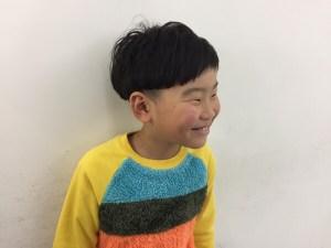 ママから息子様のご紹介🌈小学2年生のカット、オシャレは大事👦