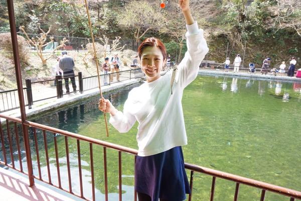 大阪から車で1時間!!親子で楽しめる、ます釣り!!
