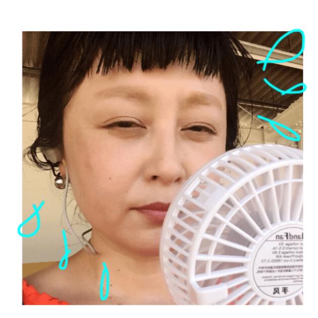 私もついに今年人気の扇風機をGET‼️