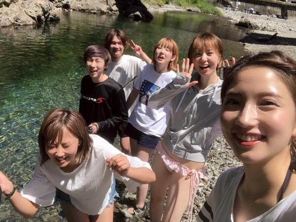 最高のBBQスポット吉野川へGO(゚∀゚)♪