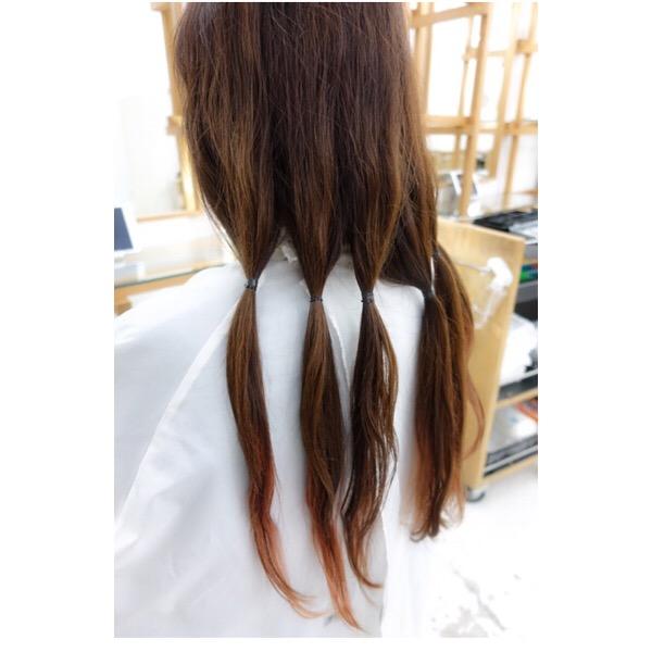 ヘアドネーション✂️大切な髪とお客様のステキな想いが届きますように❤️