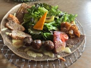 """奈良の五位堂に、フランスの郷土料理""""ガレット""""を食べに🍽サプライズ、大切な人との繋がり🤝"""