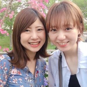 田中大親友と絶景の景色が見える温泉に♫