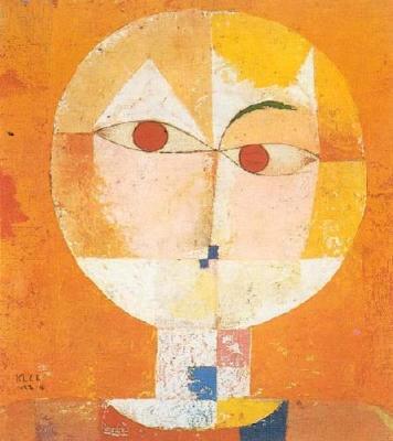Head of a man - Paul Klee