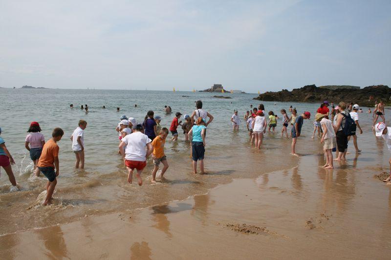 Saint Malo les pieds dans l'eau !