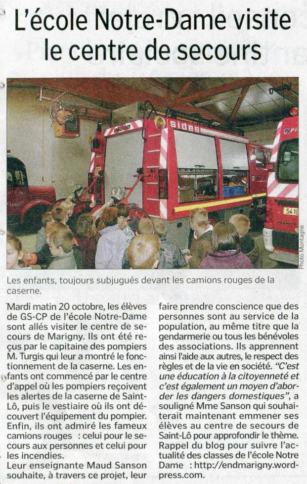 Article Manche Libre 31-102009
