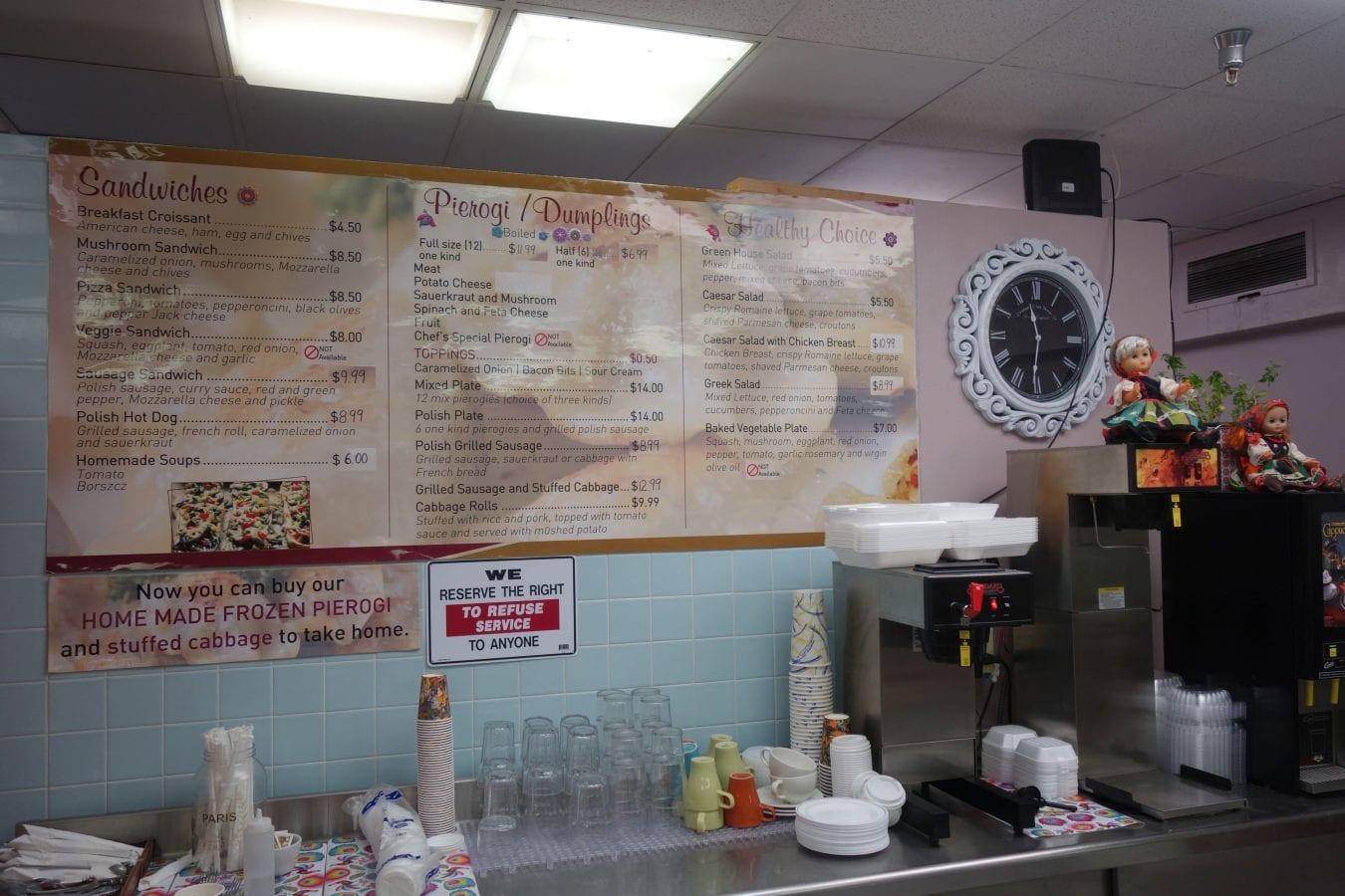 Corner Cafe Menu Decatur In
