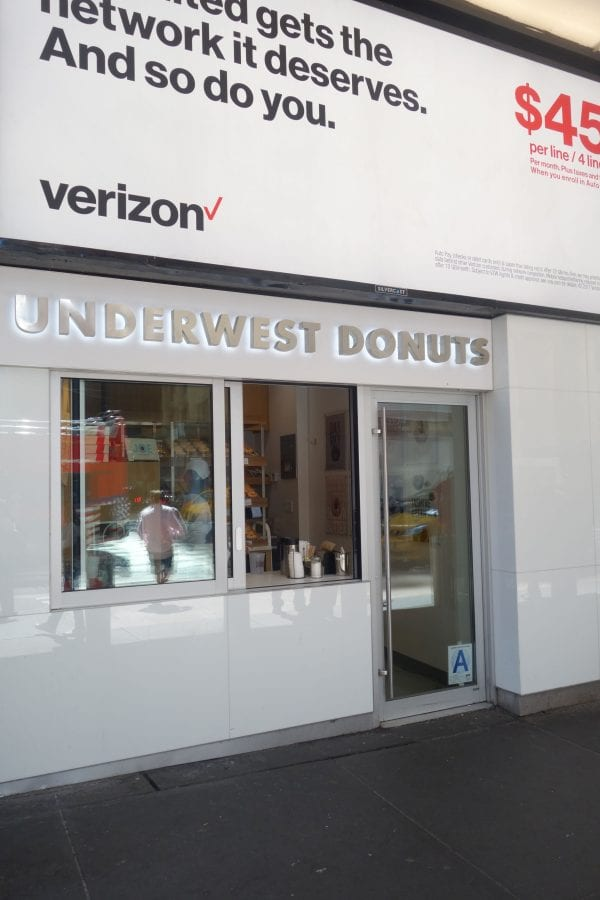 Madison Square Garden: Underwest Donuts, New York NY
