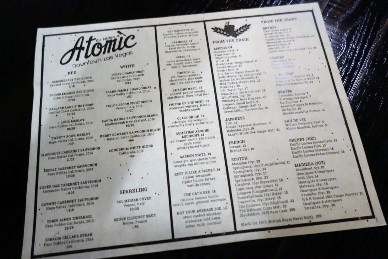 The Kitchen at Atomic, Las Vegas NV | Endo Edibles