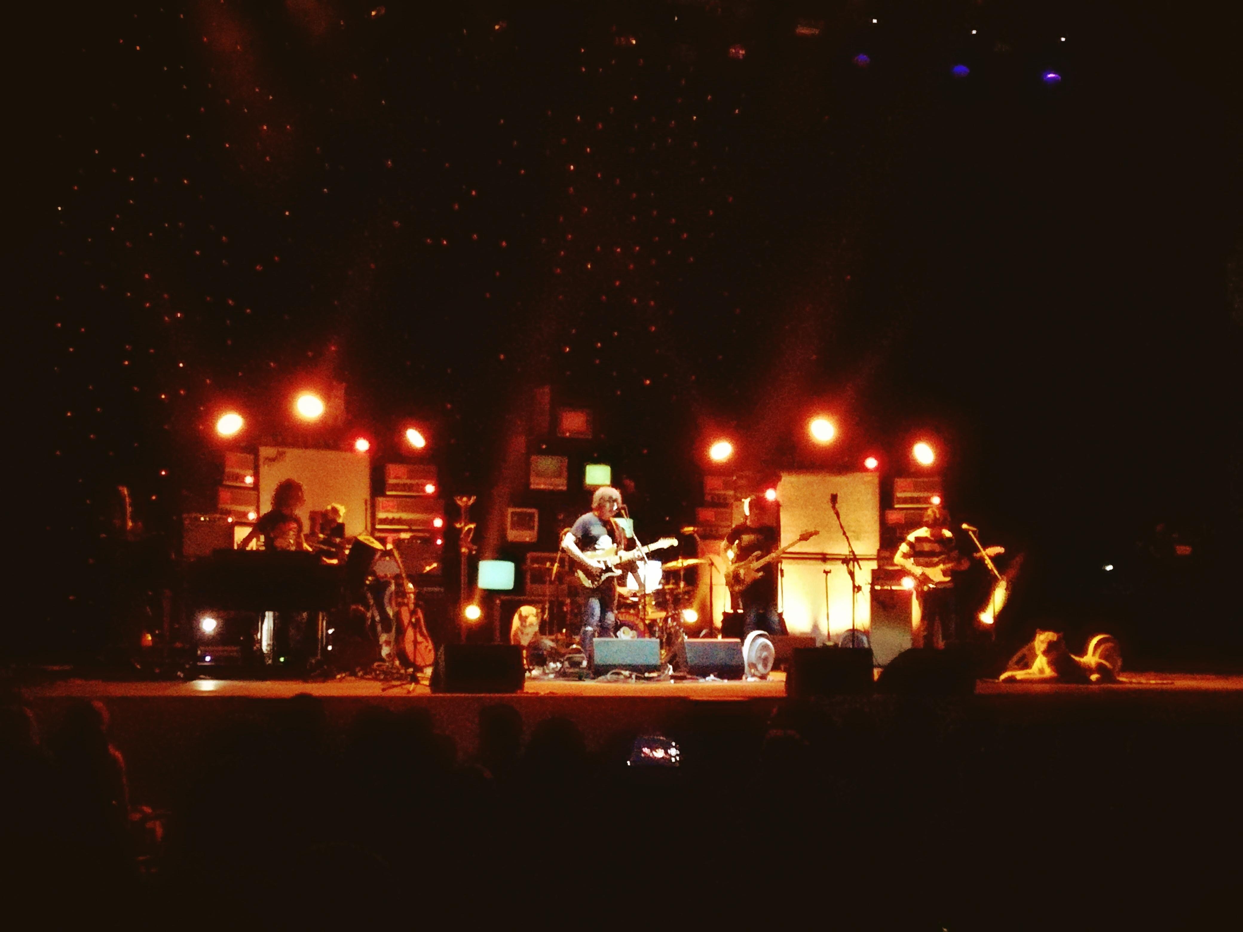 Ryan Adams dal vivo all'Auditorium Parco della Musica di Roma