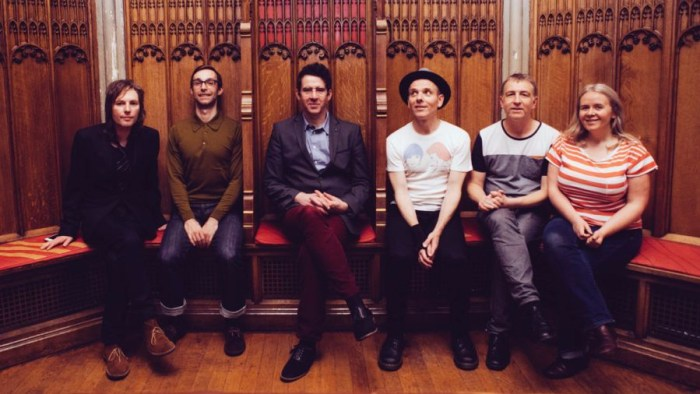 Belle and Sebastian - Manchester Cathedral, 28/10/14 Photo by Jason Williamson