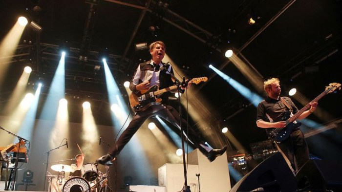 Franz Ferdinand Perform As Part Of The Summer Series 2014