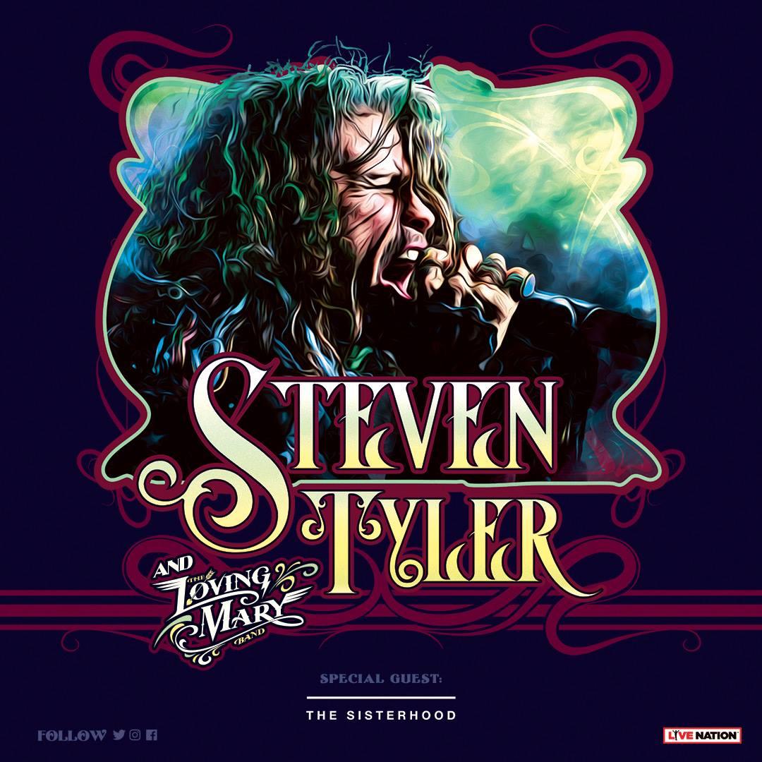 Steven Tyler (Aerosmith) a Trieste