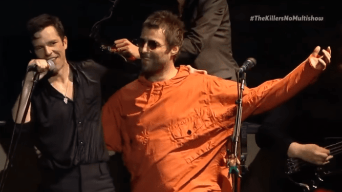 the-killers-liam-gallagher-video-all-these-things-that-ive-done-foto