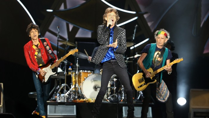 The Rolling Stones Perform Live In Auckland