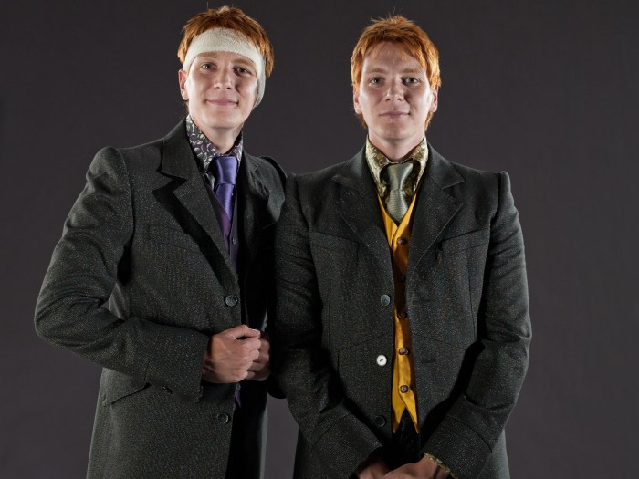james-liver-phelps-frateli-weasley-mostra-harry-potter-the-exhibition-foto