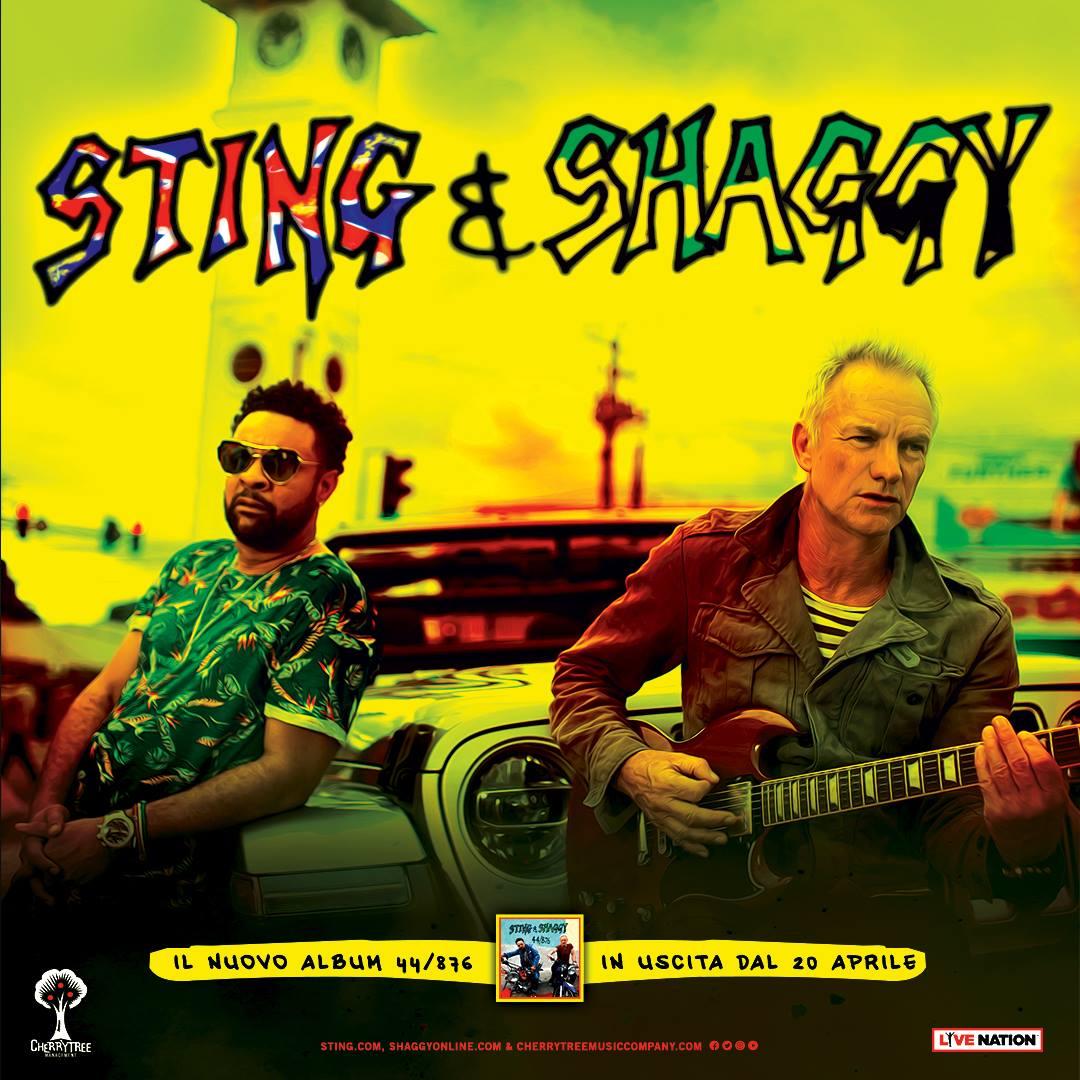 Sting e Shaggy Tour in Italia: Date, Biglietti, Scaletta