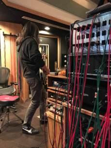 Tool - Foto dallo studio di registrazione