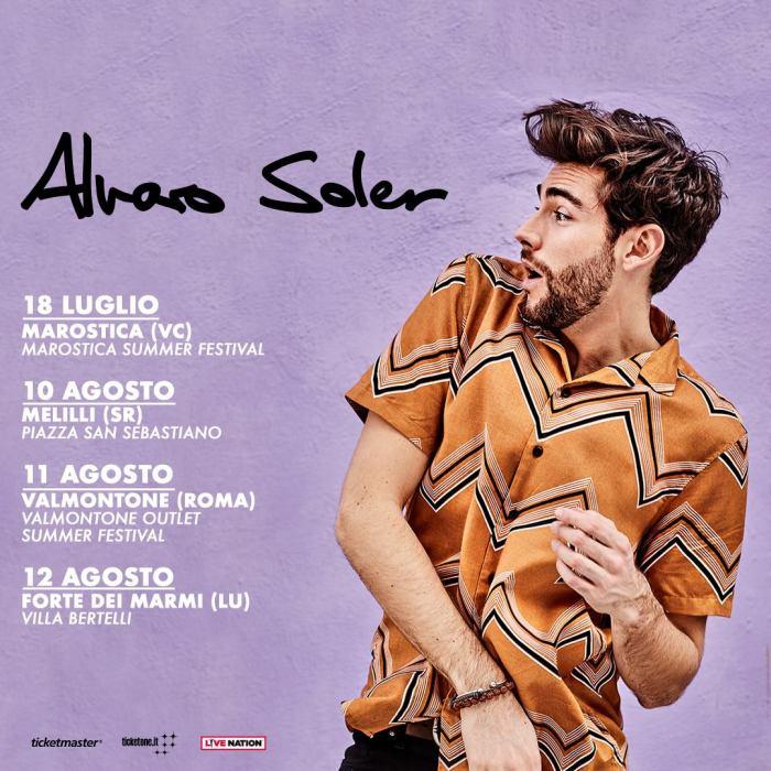 Alvaro Soler concerti Italia 2018