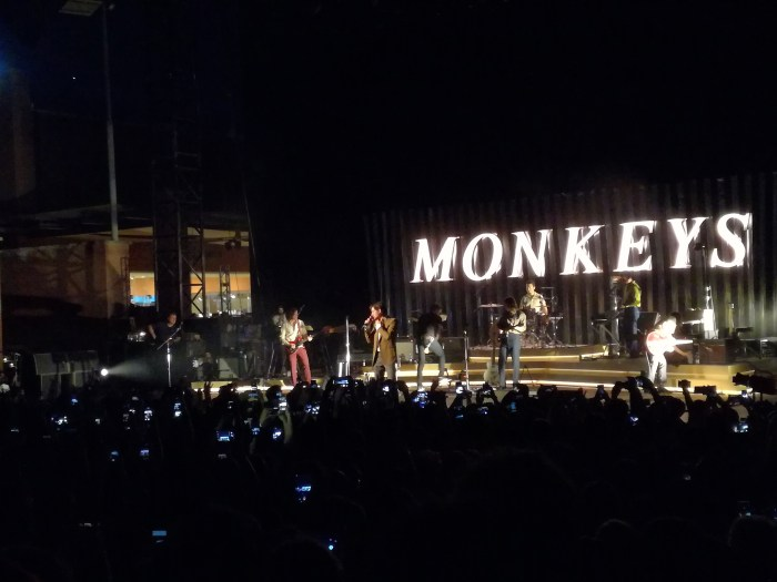 arctic monkeys concerto auditorium roma 27 maggio 2018