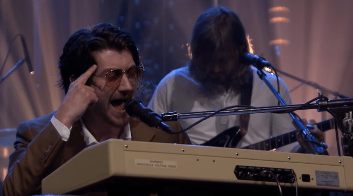 Arctic Monkeys Jimmy Fallon James Corden Four Out Of Five She Looks Like Fun