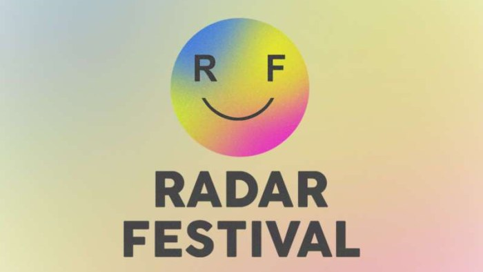 radar festival logo
