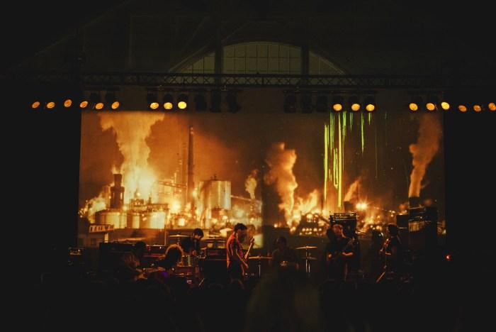 Godspeed You! Black Emperor concerto Villa Ada 4 luglio 2018