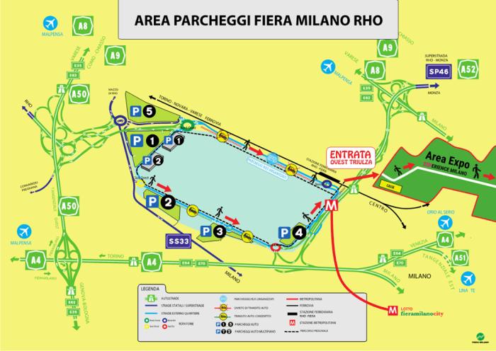 area parcheggi idays 2018
