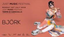 bjork nuovo concerto just music festival roma 30 luglio 2018