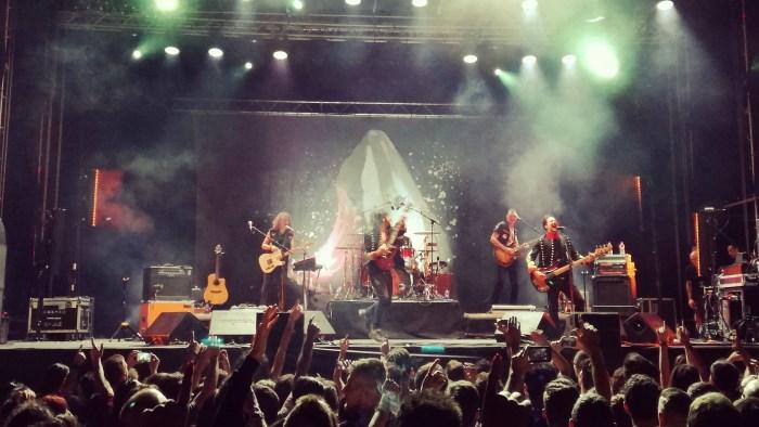 """Ministri dal vivo a Villa Ada Roma concerto 29 giugno 2018 """"Fidatevi"""" Estate Tour 2018"""