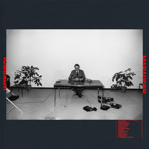 interpol marauder copertina album
