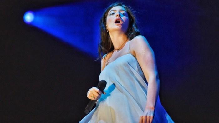Lorde canta Lost di Frank Ocean al Primavera Sound 2018 - Foto di FERRAN SENDRA