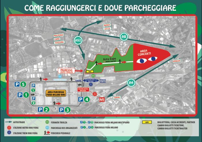 mappa parcheggi-idays-2018-foto