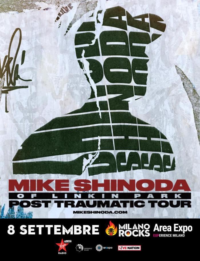 mike shinoda milano rocks